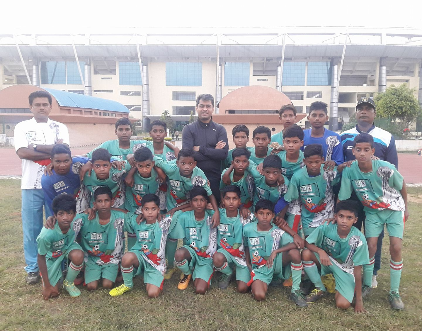 Thank you #AgnimitraPaul for designing such a creative jersey for the boys and girls of our Academy.