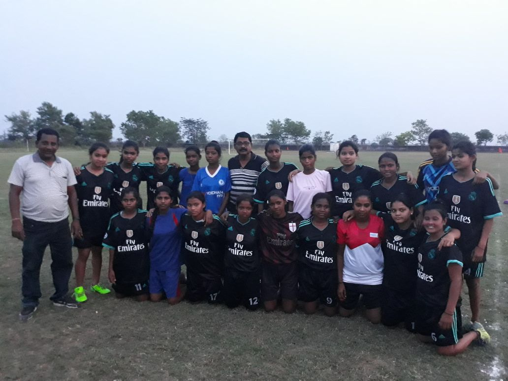 #JSSPS#FOOTBALLACADEMY#GIRLS TEAM DREW BY 0-0 AGAINST #SAMBHALPUR#FOOTBALLACADEMY #EKALAVYASPORTSANDSKILLDEVELOPMENTFOUNDATION